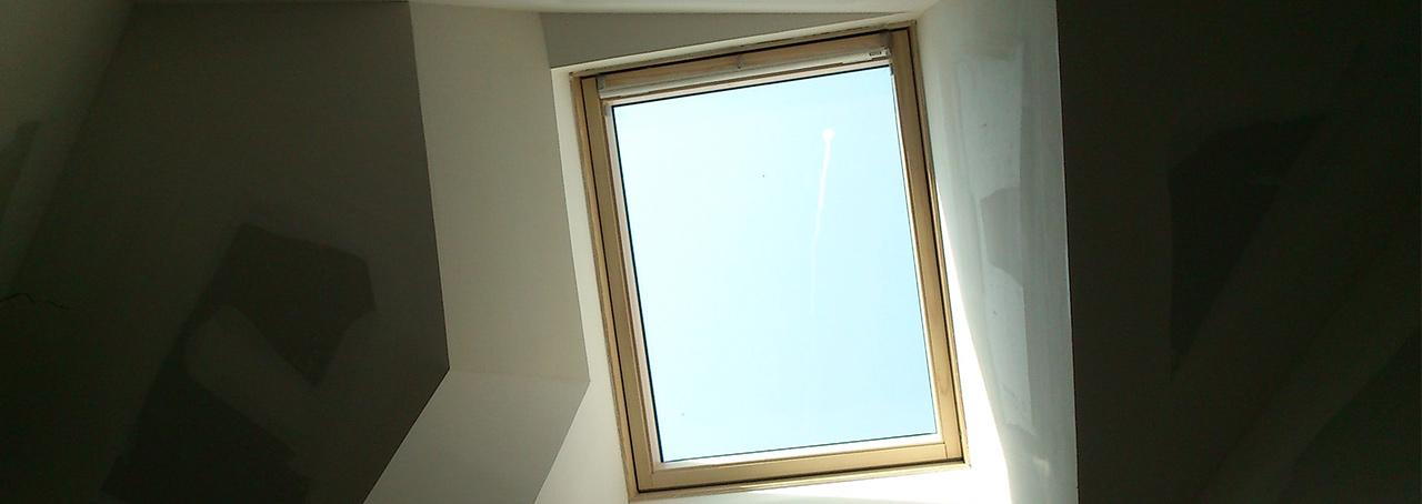 Habillage de fenêtre de toit