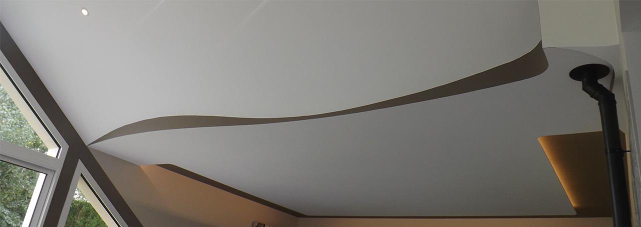 Plafond déco et bandeaux lumineux